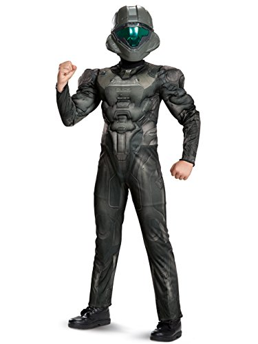 Disguise Halo Spartan Buck Classic Muscle Costume