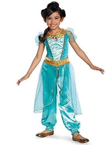 Disguise Jasmine Deluxe Disney Princess Aladdin Costume