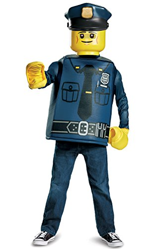 Disguise LEGO Police Officer Classic Costume