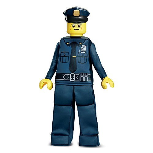 Disguise LEGO Police Officer Prestige Costume