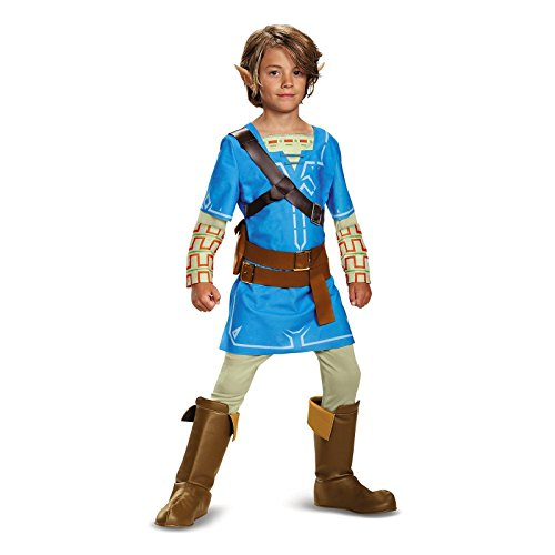 Disguise Link Breath Of The Wild Deluxe Costume