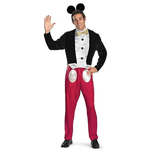 Disguise Mickey Mouse Deluxe Mens Adult Costume