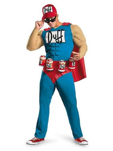 Disguise Unisex – Adult Classic Muscle Duffman