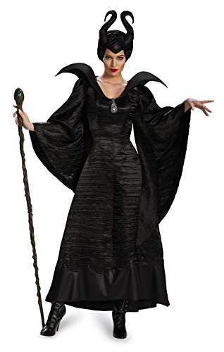 Disguise Women's Disney Maleficent Christening Gown Costume – Black