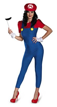 Disguise-Womens-Nintendo-Super-Mario-BrosMario-Female-Deluxe-Costume-0