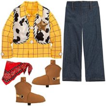 Disney-Store-Toy-Story-3-Sheriff-Woody-Costume-for-Boys-Size-Medium-78-0