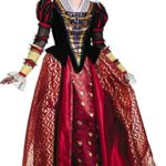 Disney-Womens-Alice-Queen-Prestige-Costume-Red-Medium-0