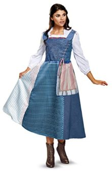 Disney-Womens-Belle-Village-Dress-Deluxe-Adult-Costume-0