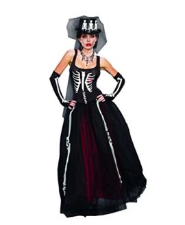 Dreamgirl-Womens-Ms-Bones-Zombie-Bride-Costume-0