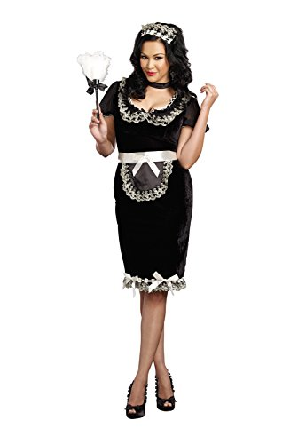Dreamgirl Women's Plus-Size Keep It Clean Maid Costume