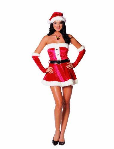 Dreamgirl Women's Santa's Sweetie Costume