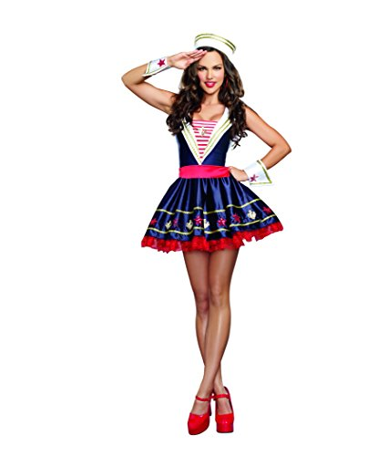 Dreamgirl Women's Shore Thing Sailor Costume