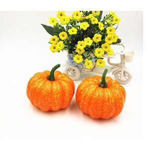 Ehdching-Pack-of-10-Artificial-Realistic-Fall-Harvest-Pumpkins-for-Props-Halloween-Home-Decor-Decoration-0