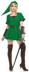 Elf-Warrior-Princess-Costume-Green-Adult-M-8-10-0