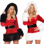 Eshion-Women-Santa-Costume-Mrs-Claus-Cosplay-Christmas-Party-Fancy-Dress-0