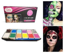 Face-Paint-Kit-for-Kids-and-Adults-12-Colors-XL-Set-1-Glitter-1-UV-Glow-Color-0