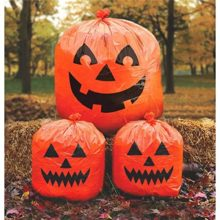 Family-Friendly-Jack-O-Lantern-Lawn-Bags-Halloween-Trick-or-Treat-Party-Outdoor-Decoration-Plastic-30-x-24-Pack-of-3-0