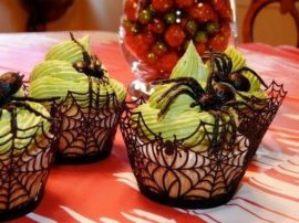 Fashionclubs-Halloween-Party-Spiderweb-Laser-Cut-Paper-Cupcake-Wrappers-Wraps-Liners-Pack-of-24Black-0-3