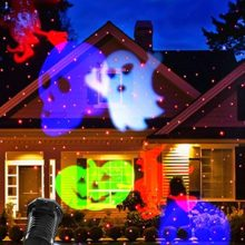 Fedpop-LED-Long-Distance-Projection-10-Patterns-Slides-Laser-Lamp-Waterproof-Lights-Christmas-Decorations-Outdoor-Indoor-Garden-Yard-Pathway-Halloween-Party-Home-Lamp-0