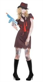Fever-Womens-Zombie-Gangster-Costume-with-Pinstripe-Dress-Hat-and-Scarf-0