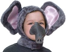 Forum-Novelties-Child-Size-Animal-Costume-Set-Elephant-Hood-and-Nose-Mask-0