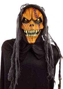 Forum-Novelties-Mens-Hooded-Pumpkin-Monster-Mask-0