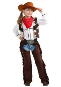 Fun-Costumes-girls-Child-Cowgirl-Chaps-Costume-0