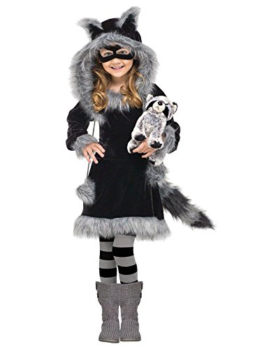 Fun World Costumes Baby Girl's Sweet Raccoon Toddler Costume