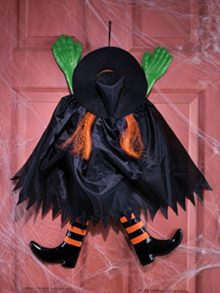 Fun-World-Funny-Backwards-Witch-Orange-Hanging-Halloween-Decoration-0