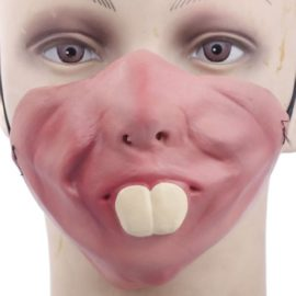 Funny-Half-Face-Silicone-Halloween-Party-Costume-Masks-0-0