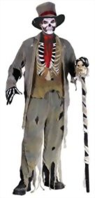 Funworld-Mens-Scary-Skeleton-Zombie-Gauze-Groom-Fancy-Halloween-Costume-0
