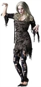 GTH-Womens-Scary-Tattered-Living-Dead-Zombie-Fancy-Halloween-Costume-0