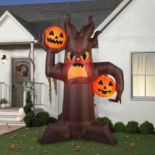 Gemmy-Airblown-Inflatable-105-X-7-Brown-Scary-Tree-Halloween-Decoration-0