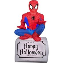 Gemmy-Airblown-Inflatable-Halloween-Spiderman-Sitting-On-Tombstone-Yard-Decoration-35-feet-Tall-0