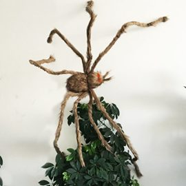 Giant-Brown-Hairy-Spider-with-LED-Eyes-for-Halloween-Decoration-0-0