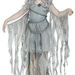Girls-Enchanted-Ghost-Gothic-Costume-size-Medium-8-10-0
