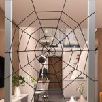 Halloween-Decorations-Hip2cart-10FT-Spider-Web-Decorations-and-Giant-Spider-Decorations-Outdoor-Indoor-0-3