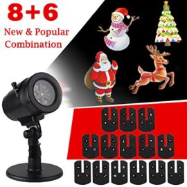 Halloween-DecorationsOutdoor-Christmas-Projector-LightsLED-Rotating-Projection-with-14-Pattern-Lens-Snowflakes-Spotlight-Waterproof-Lights-for-Wedding-Holiday-Birthday-Party-Home-Wall-Decor-Lamp-0-0