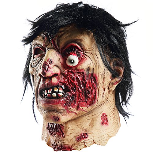 halloween horror vampire zombie maskscary costume party propscyclopia