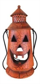 Halloween-Pumpkin-Rustic-Lantern-with-Handle-Metal-Jack-O-Lantern-Fall-Decoration-Standing-or-Hanging-Holds-Pillar-Candle-Indoor-Outdoor-by-Clovers-Garden-0