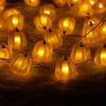 Halloween-String-LightsER-CHENTM-40-LED-Pumpkin10Ft-Long-Battery-Operated-Silver-Wire-String-Lights-with-RemoteTimer-for-IndoorCovered-OutdoorHalloween-Parties-Home-Decorations-0-1