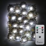 Halloween-String-LightsER-CHENTM-40-LED-Spider10Ft-Long-White-Lighting-Battery-Operated-Silver-Wire-String-Lights-with-RemoteTimer-for-IndoorCovered-OutdoorHalloween-Parties-Home-Decorations-0