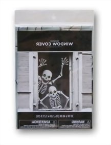 Halloween-Window-Decoration-Skeletons-0