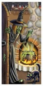 Halloween-Witchs-Brew-Door-Cover-30in-X-5ft-Party-Accessory-0