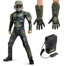Halo-Master-Chief-Muscle-Child-S-Costume-Bundle-Set-0