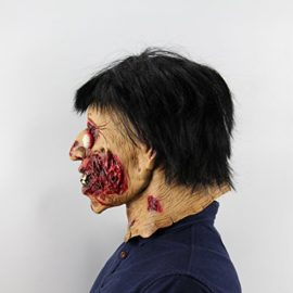 Hophen-Horror-Halloween-Rot-Face-Mask-Props-Scary-Latex-Mask-0-1