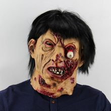 Hophen-Horror-Halloween-Rot-Face-Mask-Props-Scary-Latex-Mask-0