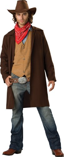 InCharacter-Costumes-Mens-Rawhide-Renegade-Duster-Jacket-0