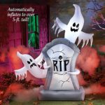 Inflatable-Lighted-Halloween-Ghosts-and-Tombstone-Dcor-Over-5-Ft-Tall-0-0