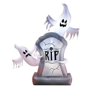 Inflatable-Lighted-Halloween-Ghosts-and-Tombstone-Dcor-Over-5-Ft-Tall-0